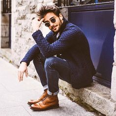 57 Best ideas for moda hombre hipster menswear mens fashion Stylish Men, Men Casual, Smart Casual, Casual Styles, Moda Hipster, Mode Man, Hipster Hairstyles, Hipster Haircut, Style Masculin