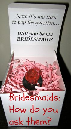 Proposing to your girls:How do you ask your #bridesmaids? Love the ring pops