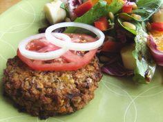 Sweet Potato and Buckwheat Burgers (#vegan, #glutenfree #recipe)