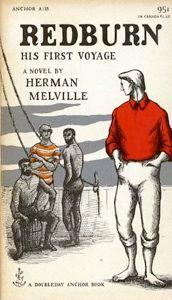 Capa de Redburn - Herman Melville