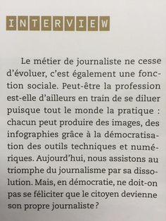 Hervé Brusini dirige depuis 2012 Francetv.info. Dans un entretien accordé à la revue TDC (Textes et documents pour la classe), il donne sa vision, pédagogique et démocratique, du journalisme.