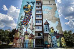 Bulgarian Street Art in Sofia, Bulgaria
