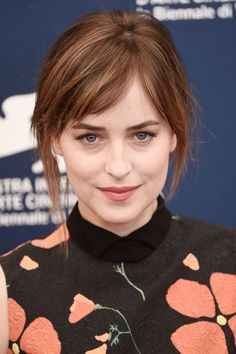 Dakota Johnson at the 2015 Venice photocall for 'A Bigger Splash'. http://beautyeditor.ca/2015/09/14/best-beauty-looks-lily-collins