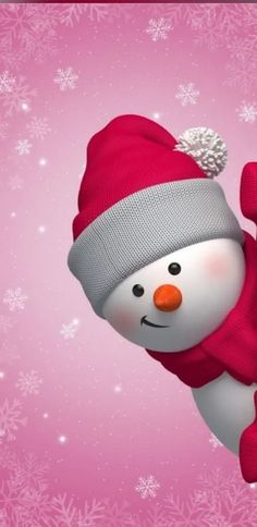 60 Simple Yet Cute Christmas Wallpaper You Must Have This Year - Page 33 of 60 - Chic Hostess Snowman Wallpaper, Christmas Phone Wallpaper, Winter Wallpaper, Holiday Wallpaper, Disney Wallpaper, Christmas Images Wallpaper, Christmas Phone Backgrounds, Christmas Background, Cute Wallpapers