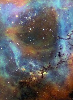 Rosette Nebula closeup - http://astroanarchy.zenfolio.com/p529257917/h25c2b425#h25c2b425