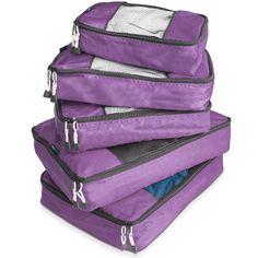 TravelWise Packing Cube System - Durable 5 Piece Weekender Plus Set [2014 Version] (Purple) TravelWise http://www.amazon.com/dp/B00HHBR030/ref=cm_sw_r_pi_dp_IaUXub0NHGD3W