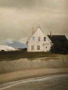 how to html color codes for text Andrew Wyeth Paintings, Andrew Wyeth Art, Jamie Wyeth, Pool Landscape Design, Landscape Art, Landscape Paintings, Landscapes, Carpe Diem, Abandoned Farm Houses