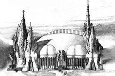 Felső-krisztinavárosi templom Gaudi, Architecture Organique, Organic Architecture, Budapest, Cathedral, Building, Travel, Art, Voyage