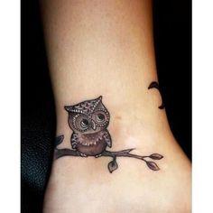 Continuando a explorar o corpo humano e os lugares a se fazer tatoos, ou mesmo o que fazer, vamos sugerir a coruja, que tem como símbolo, sabedoria e experiência. Uma corujinha é sempre bem vinda, …