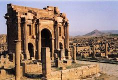 Thamugadi, also known as Timgad, is a famous archeological site in Algeria. Though in ruins, Timgad tells us about the glory of ancient Roman Empire in Africa.