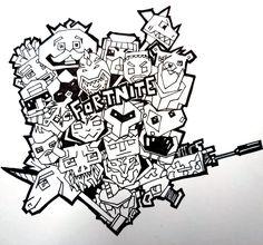 Fortnite Battle Royale Coloring Page Beef Boss Fortnite V Roce