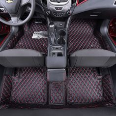 3D car styling Polyurethane Custom fit car trunk mat all weather tray carpet cargo liner for Chevrolet 2015 2016 2017 2018 Cruze