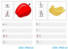 Educational materials to download from LulekandRosie.com! Alphabet, numbers and creative activities for your child.