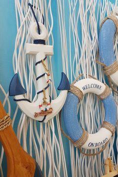 Μπλε ξύλινη άγκυρα για διακόσμηση σπιτιού με ναυτική διάθεση #summerdecoration #DIYdecoration #DIYsummer_decoration #καλοκαιρινη_διακοσμηση #barkasgr #barkas #afoibarka #μπαρκας #αφοιμπαρκα #imaginecreategr