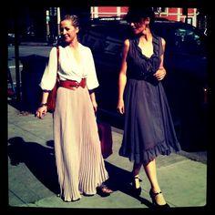 Love long skirt and Dress!