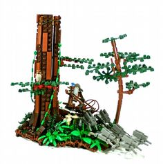 Radagast the Brown's Sled: A LEGO® creation by Max Pointner : MOCpages.com