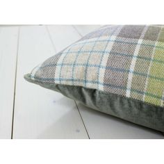 Iona Loch Green Check Cushion - Voyage Maison at Lily and Moor