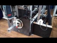 CNC Tube & Pipe Processing Machine, IIT Bombay #[MAKE IN INDIA] - YouTube