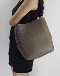 Genuine Leather handbag shoulder bag brown tote for women leather shopper  bag Striped Tote Bags d67b8f6600bd6
