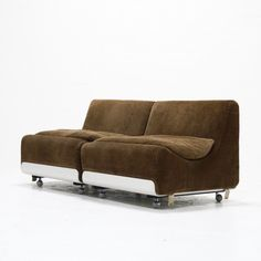 Pair of Orbis lounge chairs by Luigi Colani for COR Sitzcomfort, 1970s