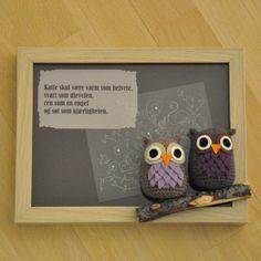 Crochet Owl, Hero Arts Stamp