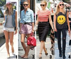 Re-Create celebrity looks for less! (Like these) Love this site!