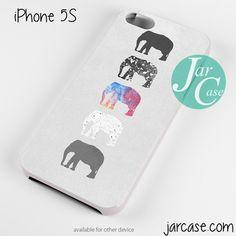 Elephants Art Phone case for iPhone 4/4s/5/5c/5s/6/6 plus