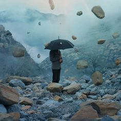 Strikingly Surreal Landscapes - These Photos Contain Mysterious Figures and Unusual Surroundings (GALLERY)