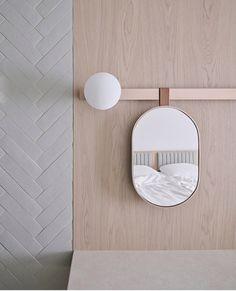 Hotel Bedroom Design, Room Interior Design, Furniture Design, Wood Stone, Contemporary Bedroom, Bedroom Lighting, Lighting Design, Narrow House, Decorative Lighting