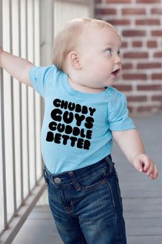 Build your own custom shirts and onesies by choosing from 12 designs, 5 colors, and 2 necklines!All shirts and onesies are made from durable pre-shrunk 100% cotton, designed to withstand even the roughest play (and roughest love!). Onesies feature snaps at the neck and legs for easy on/off.Black, Red, and Blue onesies and shirts will feature a white design. All other colors (white, gray, aqua, and mint) will feature a black design.