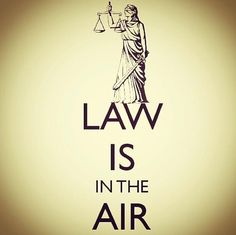 Law is in the Air -- so incredibly punny