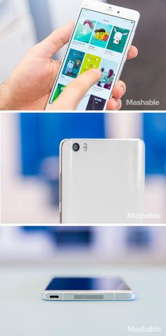 Xiaomi's Mi Note is a beautiful, ultra-thin Android smartphone with a premium metal body, a big and sharp display, and a light and modern UI.