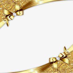 الحدود الذهب قطري, الذهبي, بطاقة عمل, فريم PNG و PSD