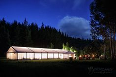 There is something about a marquee lit up at night