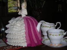 China half doll knitted Tea Cozy. by AprilMayinJune on Etsy, $85.00