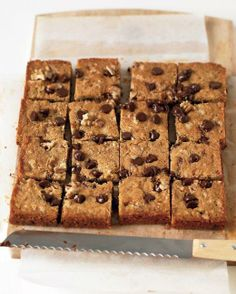 One-Bowl Baking Wonders // Blondies with Chocolate Chips and Walnuts Recipe