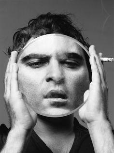 Joaquin Phoenix by Mark Abrahams