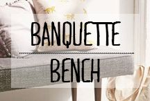 Banquette Bench, Inspiration, Home Decor, Biblical Inspiration, Decoration Home, Room Decor, Home Interior Design, Inspirational, Home Decoration