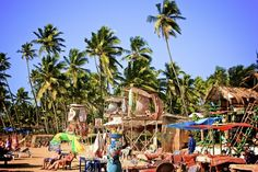 Goa, India. // Anjuna Beach.