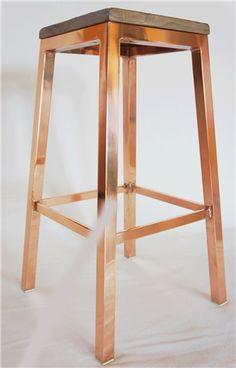 copper barstool