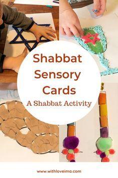 Sensory Activities, Craft Activities For Kids, Toddler Activities, Preschool Activities, Crafts For Kids, Hebrew School, Jewish School, Shabbat Candles, Shabbat Dinner