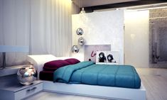 Allow traffic decorating ideas for small bedrooms http://www.jambic.com/simple-stylish-decorating-ideas-small-bedrooms/
