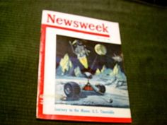 Newsweek June 19 1961 Journey To The Moon Painting