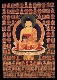 The Enlightened One, Lord of Shakya Clan Shakyamuni Buddha, Tibet; 19th century…