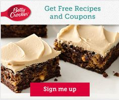 Tri Cities On A Dime: BETTY CROCKER FREE RECIPES + EXCLUSIVE COUPONS + F...
