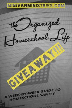 "I am excited to announce that in honor of my 100th blog post today, homeschool convention season, and spring cleaning and organizational madness…I am hosting my first giveaway!!! I have found the perfect prize–The Organized Homeschool Life: A Week by Week Guide to Homeschool Sanity eBook! Every good and perfect gift is from above."" James …"