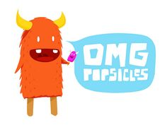 OMG Popsicles! (Illustration by Tobias Lunchbreath)