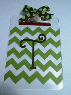 Personalized acrylic clipboard by TwokidsmomCrafts on Etsy, $12.00
