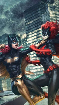 Batgirl vs Bat Woman