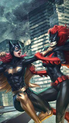 Batgirl versus bat woman